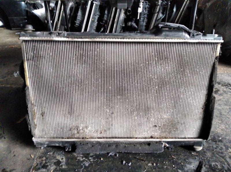 Радиатор охлаждения Toyota Mark X GRX120 4GR (б/у)