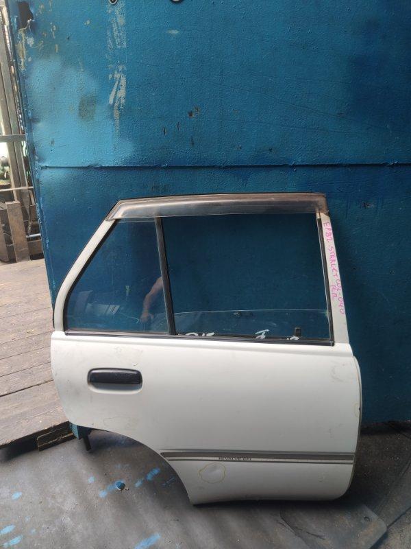Дверь Toyota Starlet EP82 задняя правая (б/у)