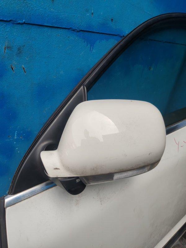 Зеркало Volkswagen Touareg WVGCM77L24D068451 переднее левое (б/у)
