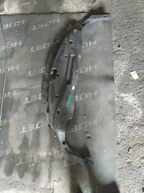 Планка радиатора Toyota Mark X GRX120 (б/у)