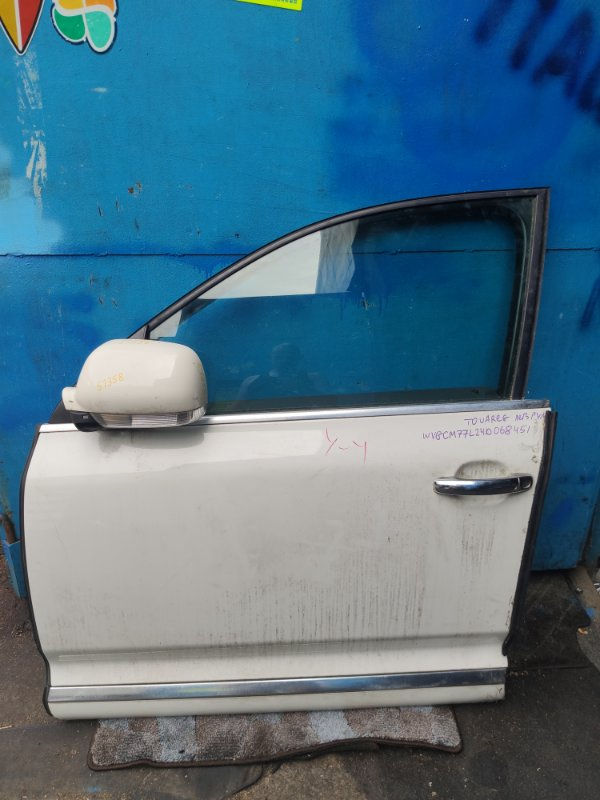 Дверь Volkswagen Touareg WVGCM77L24D068451 передняя левая (б/у)