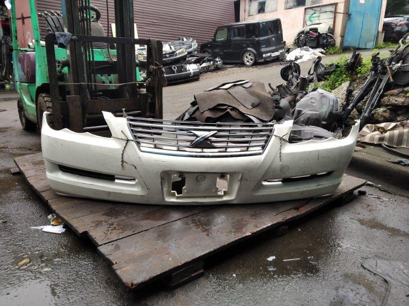 Бампер Toyota Mark X GRX120 4GRFSE передний (б/у)