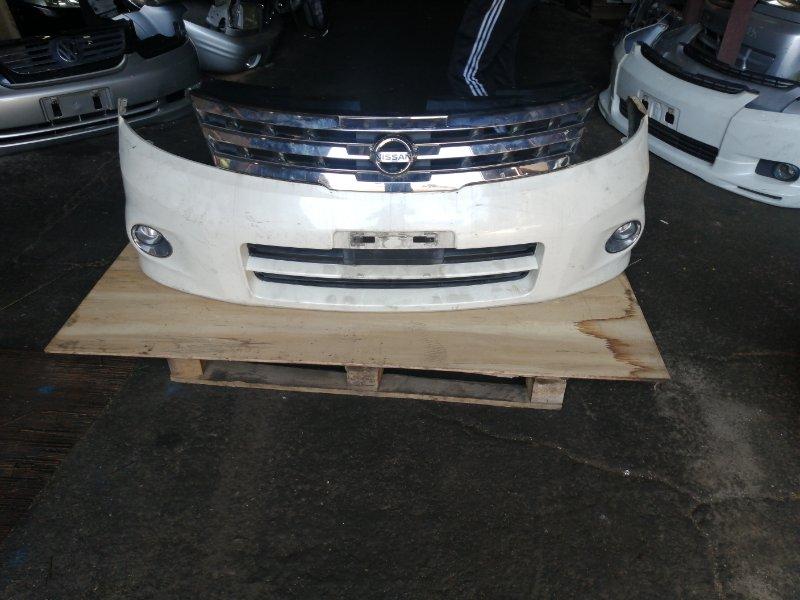 Бампер Nissan Presage U31 передний (б/у)