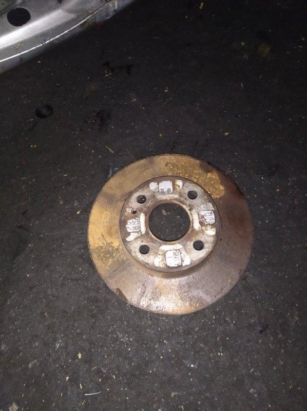 Тормозной диск Mazda Familia BJ5W ZL передний (б/у)