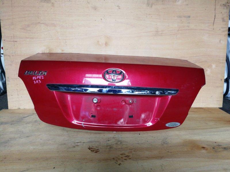 Крышка багажника Toyota Belta KSP92 1KR (б/у)