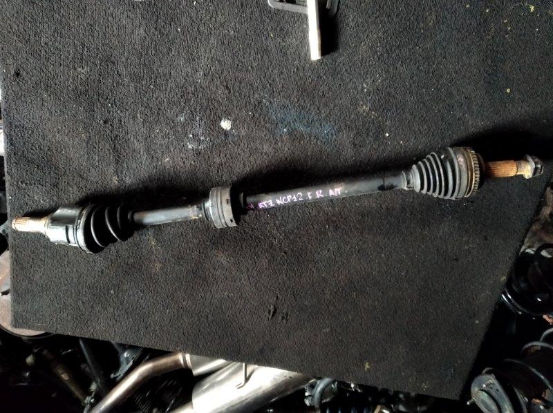 Привод Toyota Platz NCP12 1NZFE передний правый (б/у)