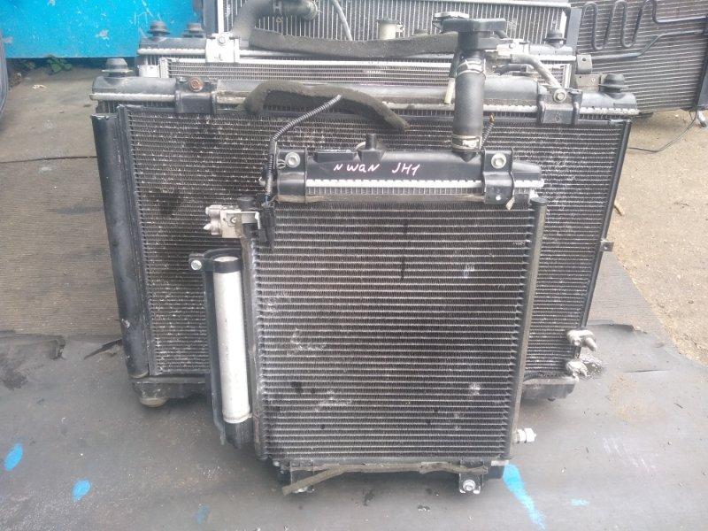 Радиатор охлаждения Honda N-Wagon JH1 S07A (б/у)
