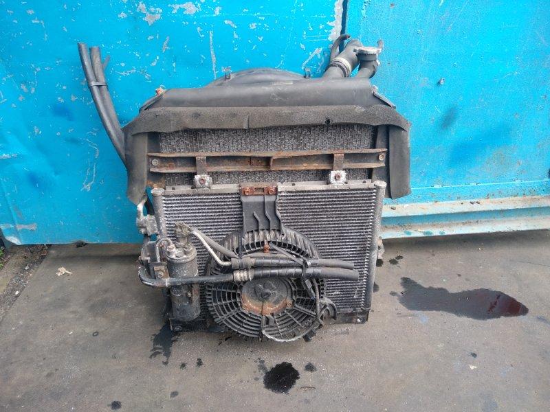 Радиатор охлаждения Isuzu Elf (б/у)