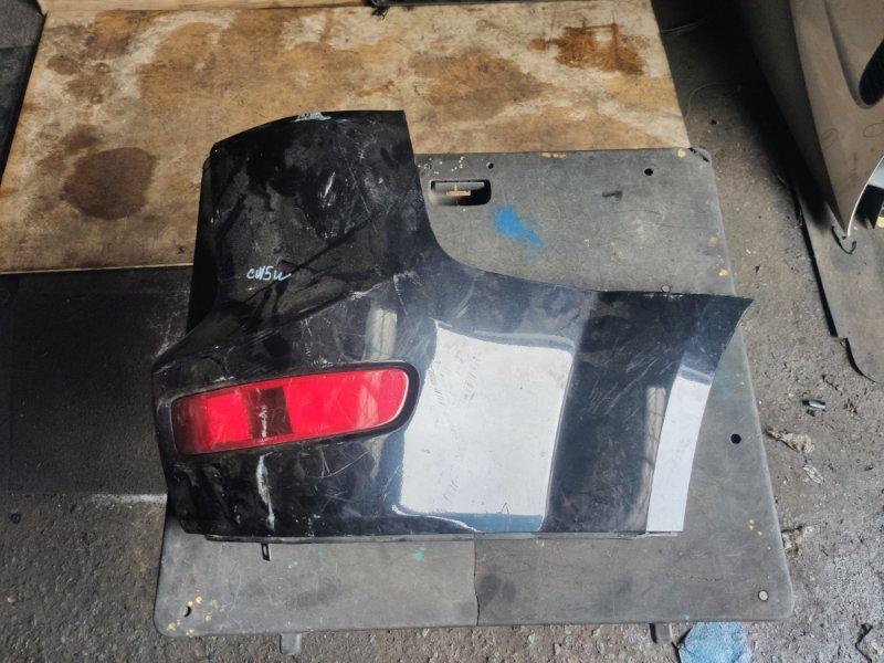 Клык бампера Mitsubishi Outlander CW5W задний правый (б/у)
