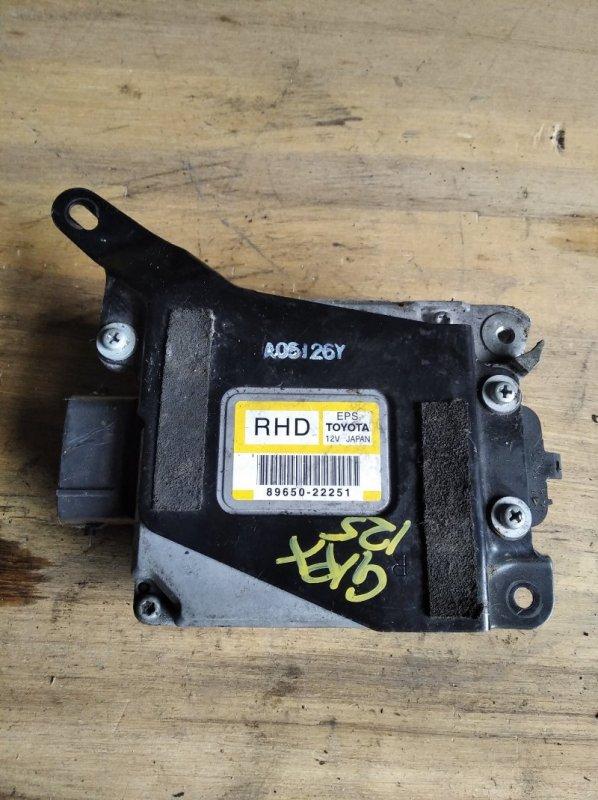 Блок управления рулевой рейкой Toyota Mark X GRX125 (б/у)