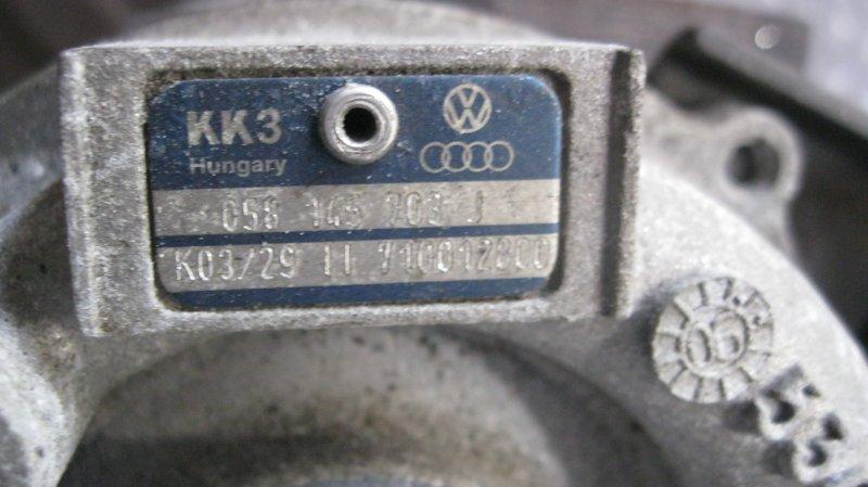 Турбина Audi A4 8EC BFB (б/у)
