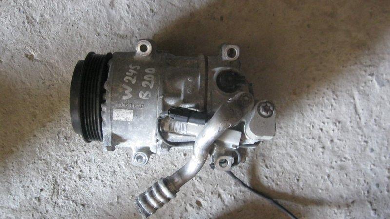 Компрессор кондиционера Mercedes-Benz B200 WDD245 M266E20 266.960 (б/у)