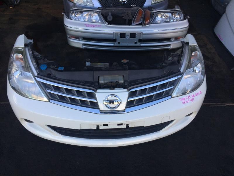 Nose cut Nissan Tiida C11 HR15 (б/у)
