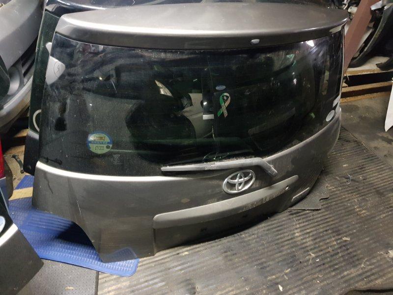 Дверь 5-я Toyota Ist NCP60 задняя (б/у)