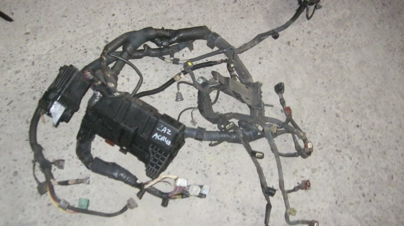 Проводка двс Toyota Estima ACR40 2AZFE (б/у)