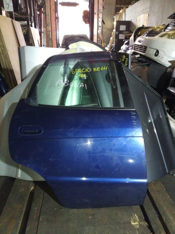 Дверь Toyota Spacio AE111 задняя правая (б/у)