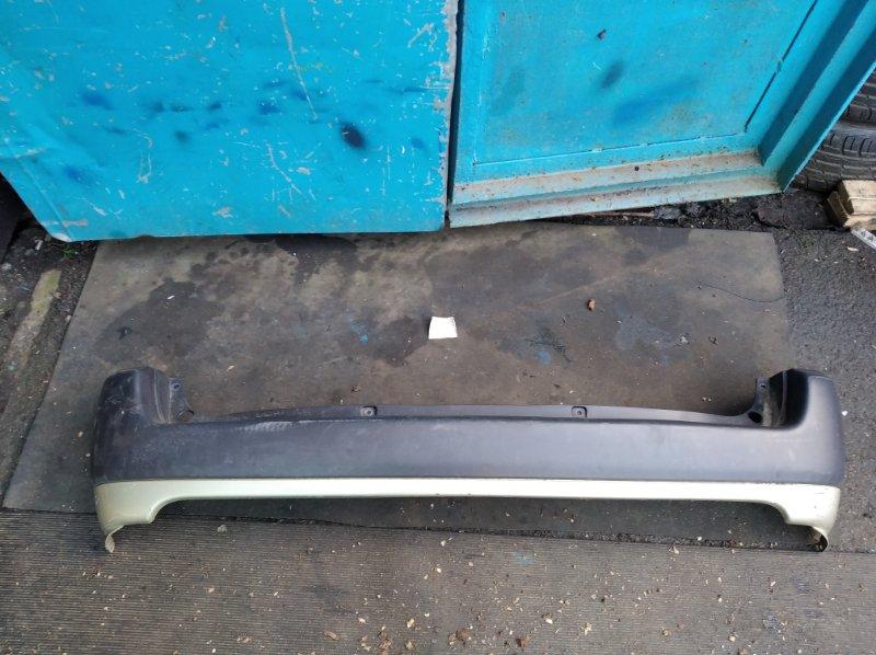Бампер Toyota Probox NCP51 задний (б/у)