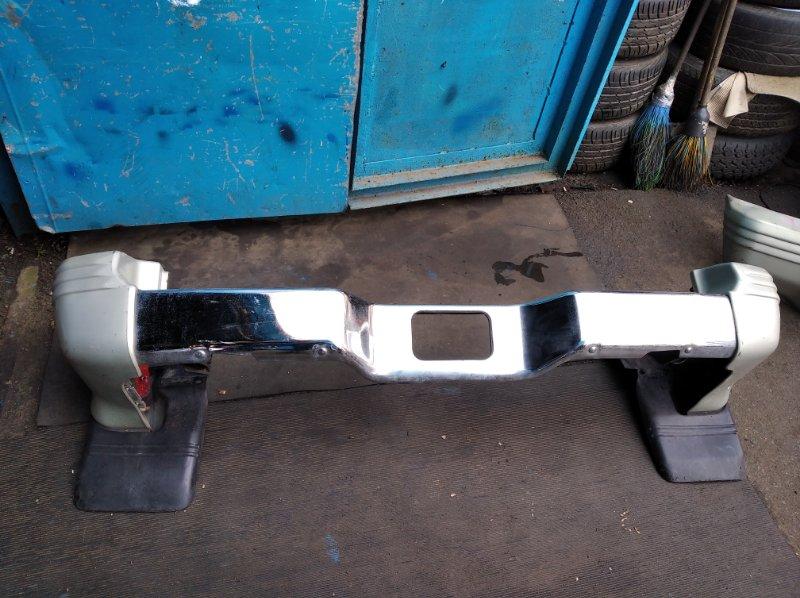 Бампер Mitsubishi Pajero V26W задний (б/у)