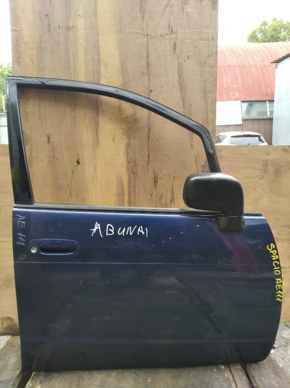 Дверь Toyota Spacio AE111 передняя правая (б/у)