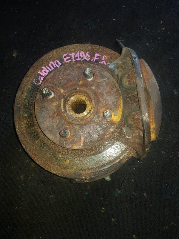 Суппорт Toyota Caldina ET 196 5E передний правый (б/у)