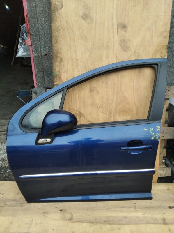 Дверь Peugeot 207 передняя левая (б/у)