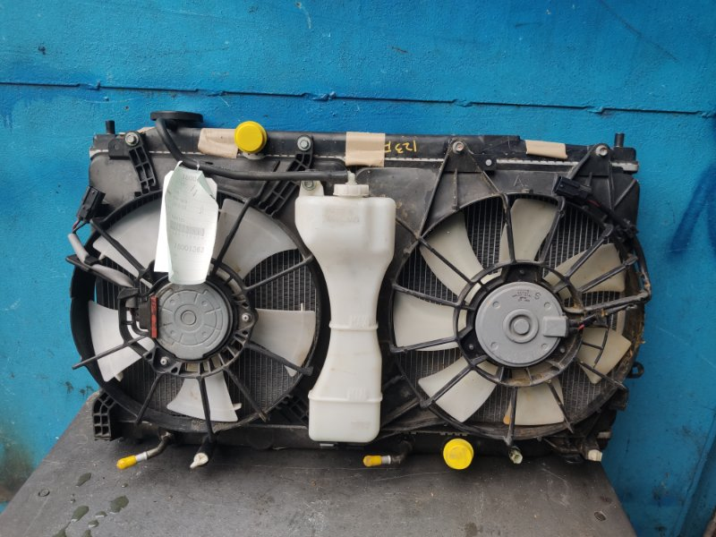Радиатор охлаждения Honda Fit GE8 L15A (б/у)