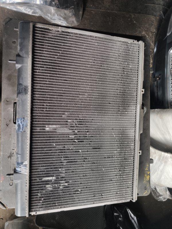 Радиатор охлаждения Mitsubishi Pajero Io H77W 4G94 (б/у)