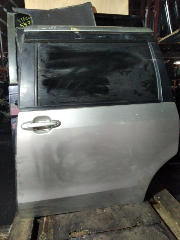 Дверь Mazda Mpv LW3W задняя левая (б/у)