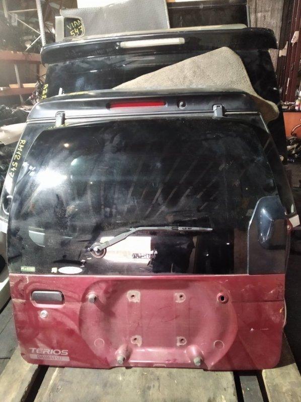 Дверь 5-я Daihatsu Terios J122G задняя (б/у)