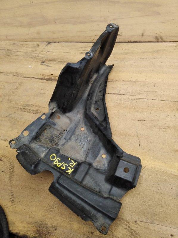 Защита двигателя Toyota Vitz KSP90 правая (б/у)