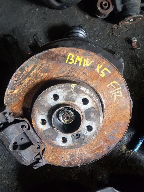 Ступица Bmw X5 E53 M54B30 передняя правая (б/у)