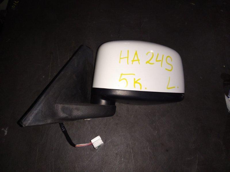 Зеркало Suzuki Alto HA24S переднее левое (б/у)