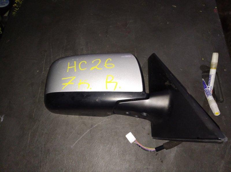 Зеркало Nissan Serena HC26 переднее правое (б/у)