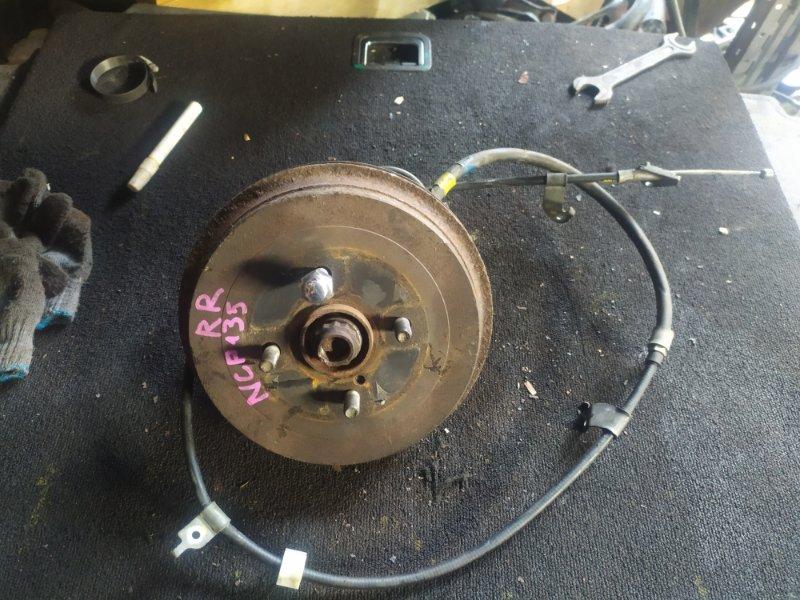 Ступица Toyota Vitz NSP135 1NR задняя правая (б/у)