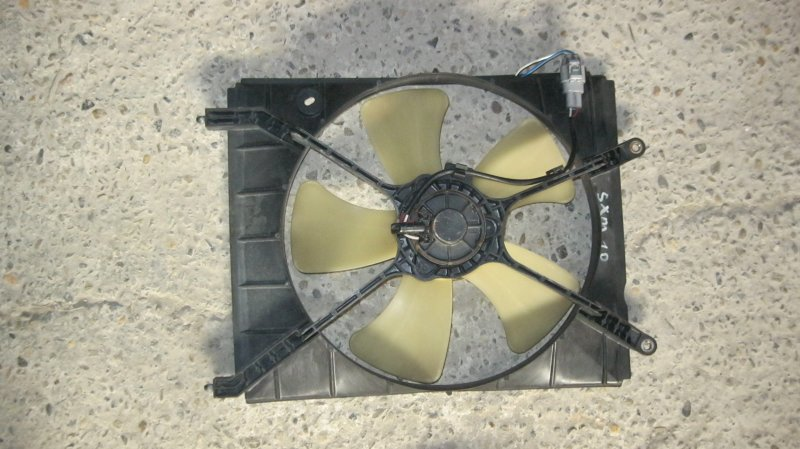 Вентилятор радиатора Toyota Gaia SXM10 3SFE (б/у)