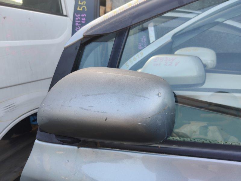 Зеркало Toyota Vitz KCP90 левое (б/у)