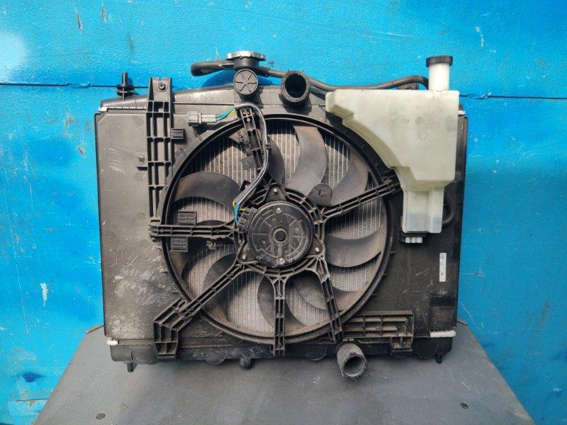 Радиатор охлаждения Nissan Ad VY12 HR15 (б/у)