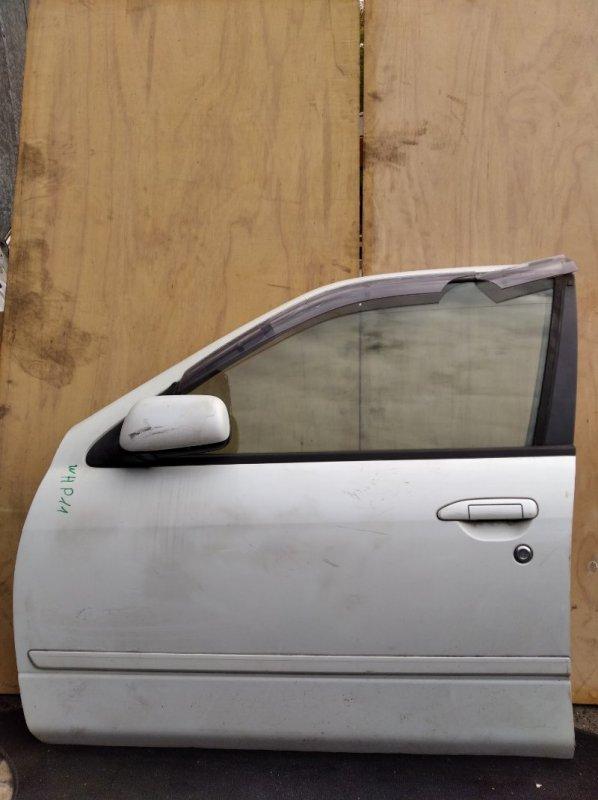 Дверь Nissan Primera WHP11 передняя левая (б/у)