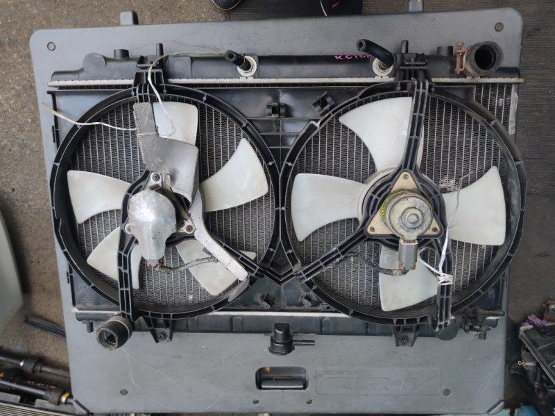 Радиатор охлаждения Nissan Bluebird ENU14 SR18 (б/у)