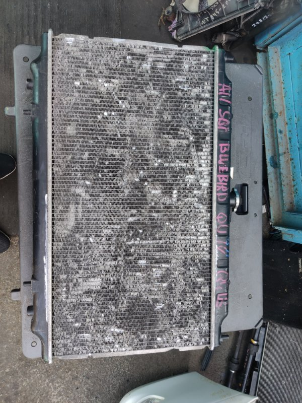 Радиатор охлаждения Nissan Bluebird QU14 QG18 (б/у)