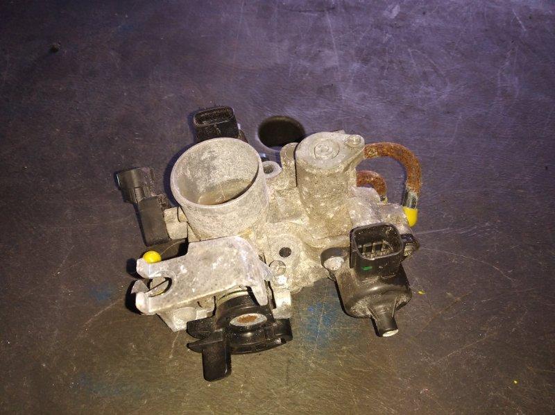 Дроссельная заслонка Mazda Scrum DG64V K6A (б/у)