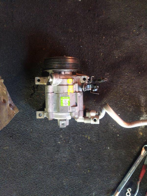 Компрессор кондиционера Subaru Impreza GH2 EL15 (б/у)