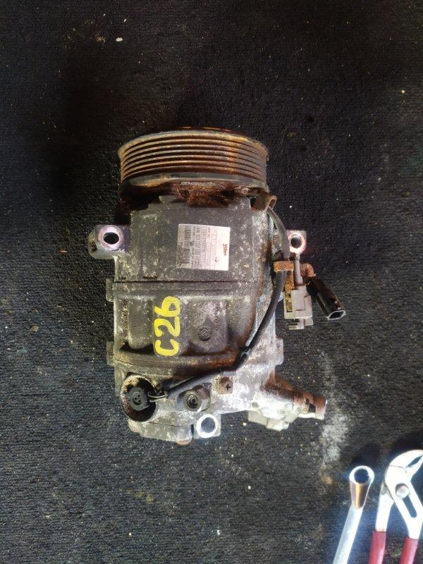 Компрессор кондиционера Nissan Serena C26 MR20 (б/у)