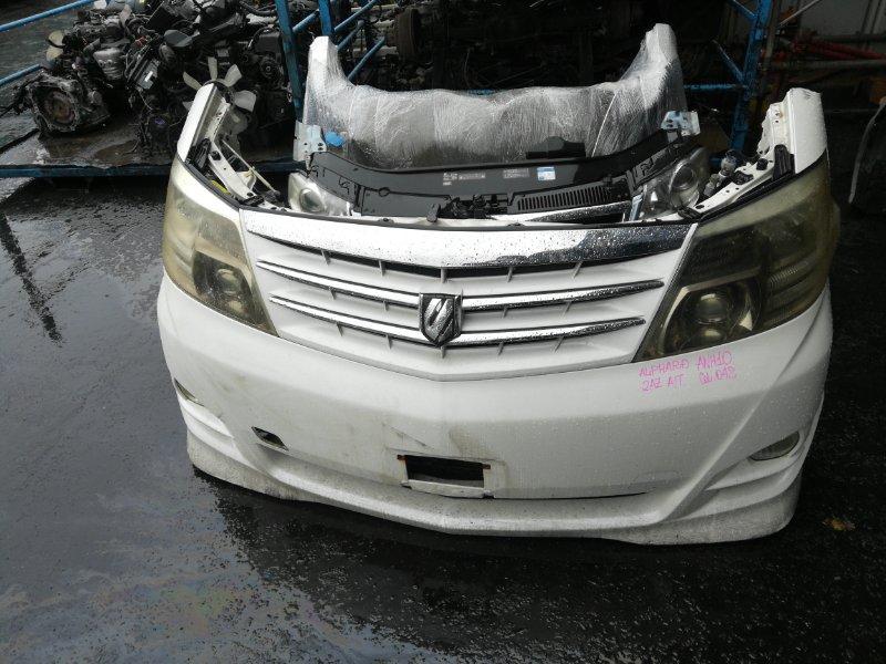 Nose cut Toyota Alphard ANH10 2AZFE (б/у)