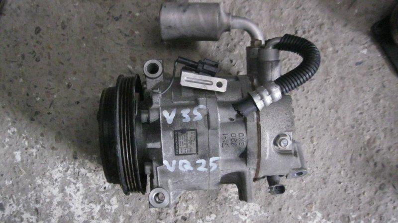 Компрессор кондиционера Nissan Skyline V35 VQ25DD (б/у)