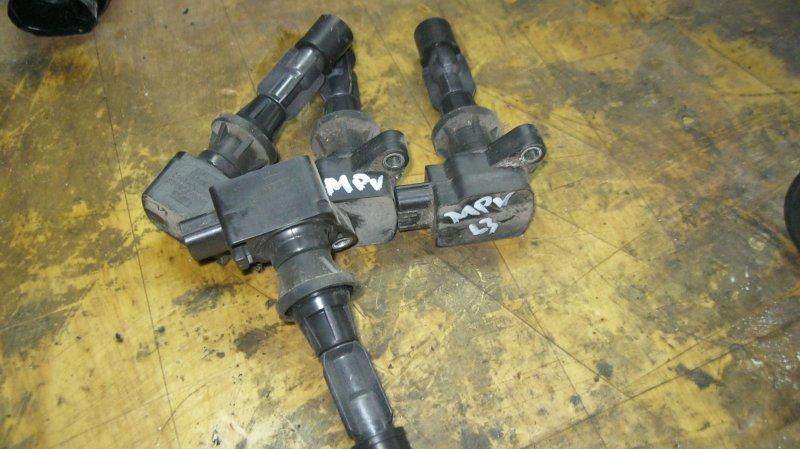 Катушка зажигания Mazda Mpv LY3P L3VE (б/у)