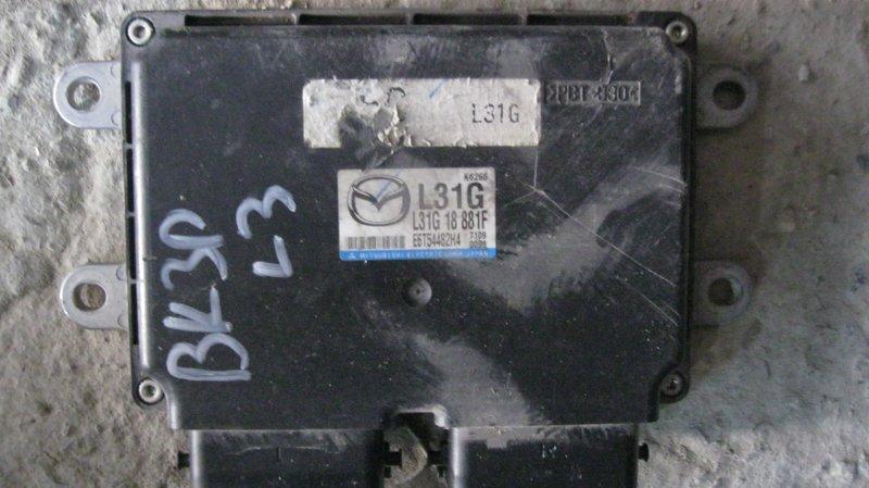 Блок управления двс Mazda Axela BKEP LFVE (б/у)