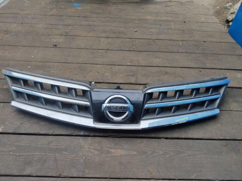Решетка бамперная Nissan Tiida C11 (б/у)