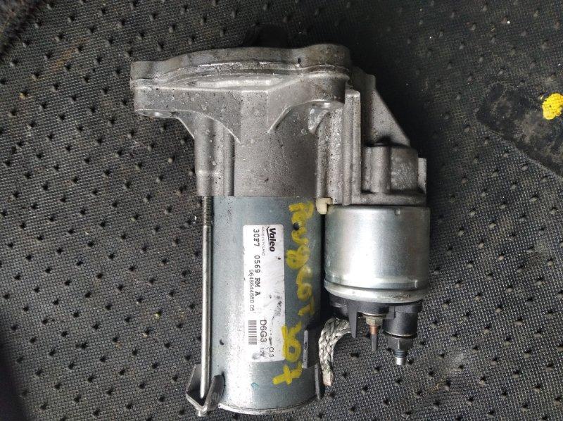 Стартер Peugeot 307 3A TU5JP4 (б/у)