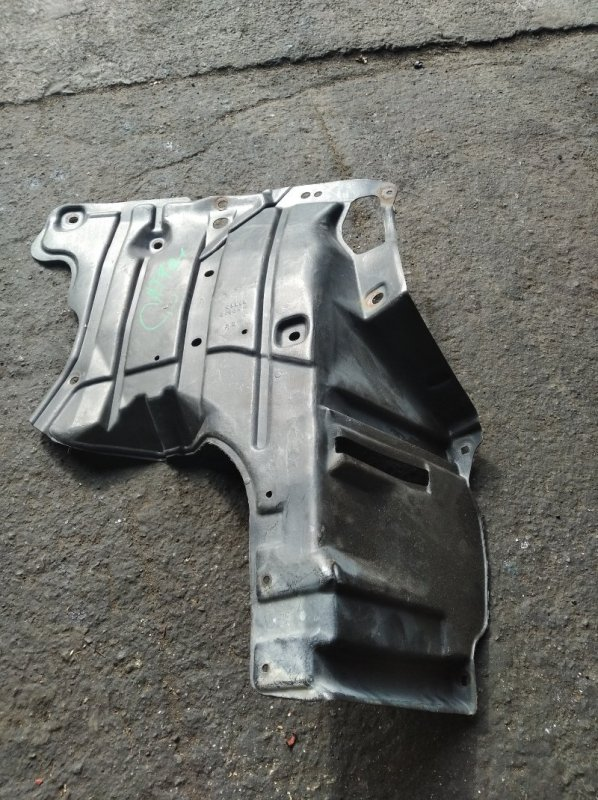 Защита двигателя Toyota Carina AT191 передняя левая (б/у)